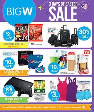 3 Days of Easter Sale - 5 for $5 Hot Wheels Cars and more @ BigW.com.au