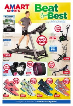 Amart Sports on sports, gym, fitness and more at great prices.