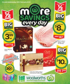 Woolworths Weekly Specials Catalogue NSW Wed 12 Feb 2014