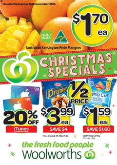 Weekly christmas specials offers huge saving on groceries & foods at Woolworths.com.au