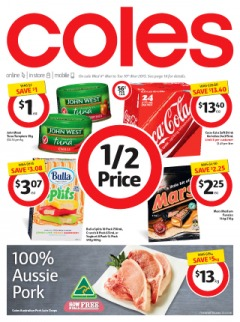Coles catalogue sale groceries and fresh food