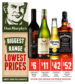 Dan Murphy's new catalogue out now - biggest range of wines, beer and sparkling at lowest prices