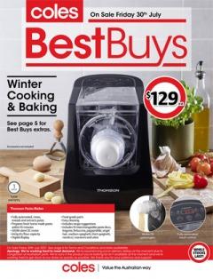Coles Best Buys - Winter Cooking & Baking