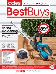 Coles Best Buys - Spring Gardening
