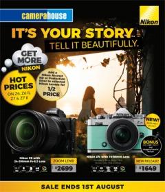 Nikon It's Your Story Tell It Beautifully