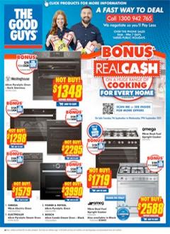 Bonus RealCa$h on Cooking!