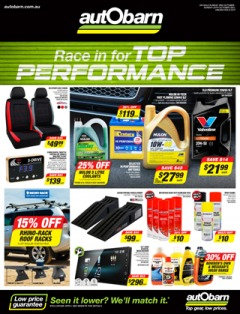Race in for Top Performance