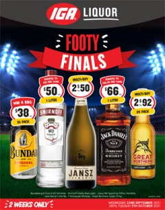 Footy Finals - NSW