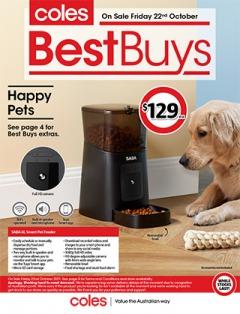 Coles Best Buys - Happy Pets
