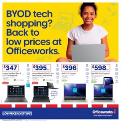BYOD Tech Shopping? Back to Low Prices at Officeworks