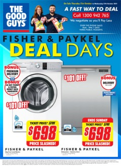 Fisher & Paykel Deal Days!