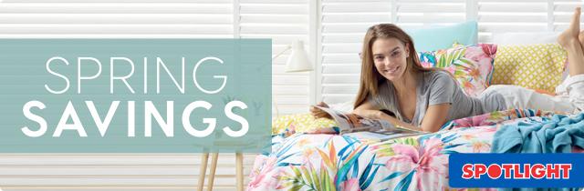 Spotlight Spring Savings