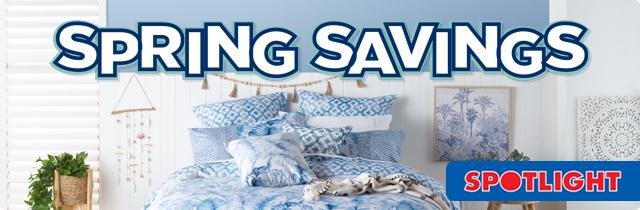 Spring Savings - Spotlight
