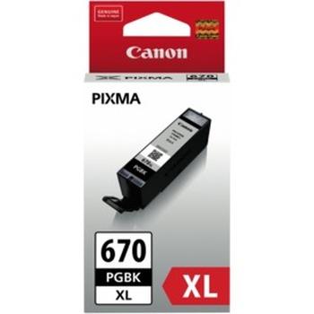 PGI670XLBK Pigment Black Extra Large Ink Cartridge