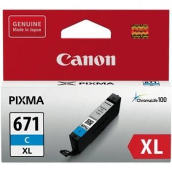 CLI671XLC Cyan Extra Large Ink Cartridge