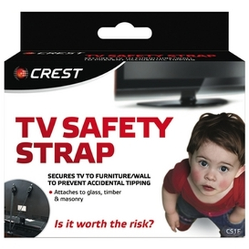 Flat Panel TV Safety Strap - 60kgs Max Load