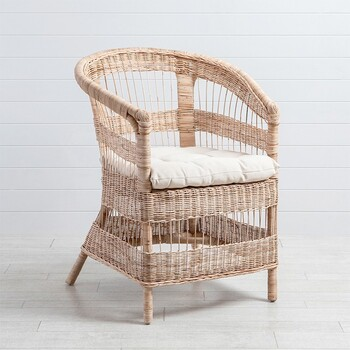 Vale Wicker Occasional Chair by M.U.S.E.