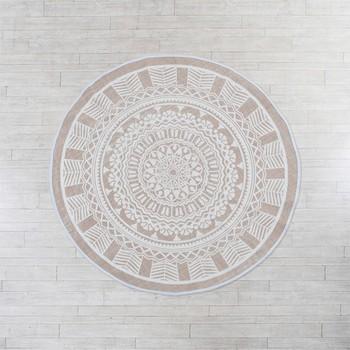 Moroc Round Floor Rug by Habitat