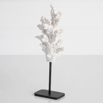 Small Jada White Coral on Stand by M.U.S.E.