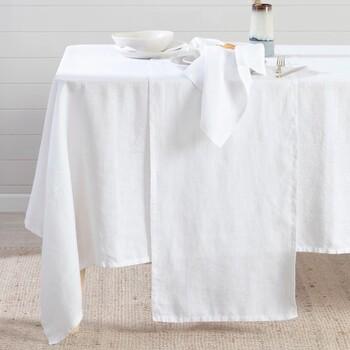 Alamosa White Table Linen by M.U.S.E.