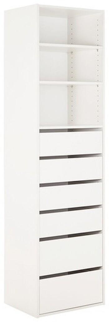 Tailor 3 Shelf 6 Drawer Storage Unit
