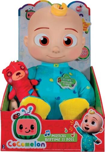 Cocomelon Plush Bedtime JJ Doll