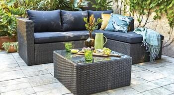 Cordon 3 Seater Lounge Setting
