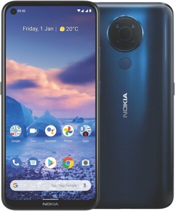 Nokia 5.4 128GB with Android One - Polar Night