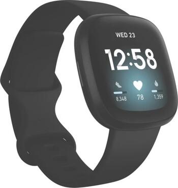 Fitbit Versa 3 - Black/Black Aluminium