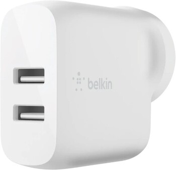 Belkin 12W Dual USB-A Wall Charger