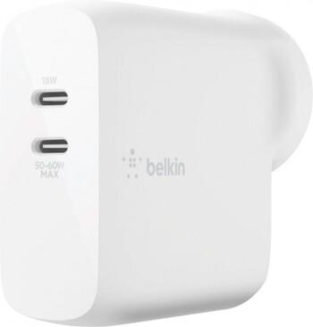 Belkin 68W Dual USB-C PD Wall Charger