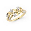 9ct-Gold-Diamond-Dress-Ring Sale