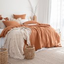 Washed-Linen-Rust-Quilt-Cover-Set-by-MUSE Sale