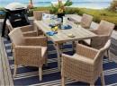 Aruba-6-Seater-Timber-Wicker-Dining-Setting Sale