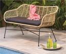 Cayman-Wicker-Bench-Seat Sale