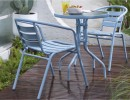 Cancun-2-Seater-Steel-Caf-Setting Sale