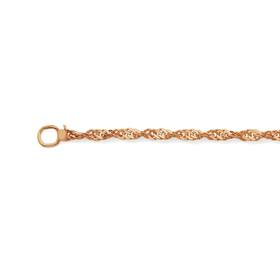 9ct-Rose-Gold-45cm-Solid-Singapore-Chain on sale