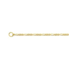 9ct-Gold-45cm-Solid-Figaro-31-Chain on sale