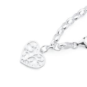 Sterling-Silver-Tree-of-Life-Charm-Bracelet on sale
