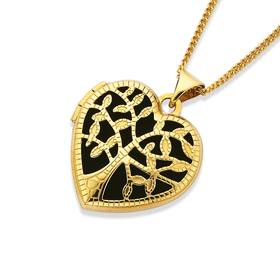 9ct-Gold-18mm-Tree-of-Life-Heart-Locket on sale