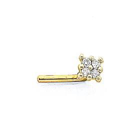 9ct-Gold-Diamond-Invisable-Setting-Nose-Stud on sale