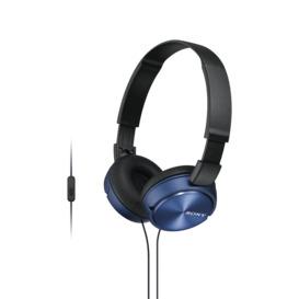 On-Ear-Headphones-Blue on sale