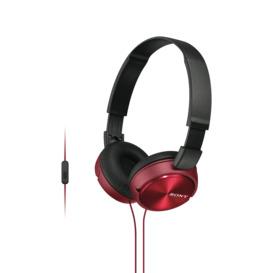 On-Ear-Headphones-Red on sale