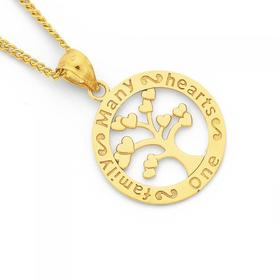 9ct-Gold-Tree-of-Life-Message-Pendant on sale