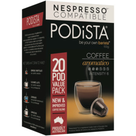 Aromatico-Coffee-Pods-20pk on sale