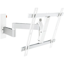 Full-Motion-TV-Wall-Bracket-Med-32-55-White on sale
