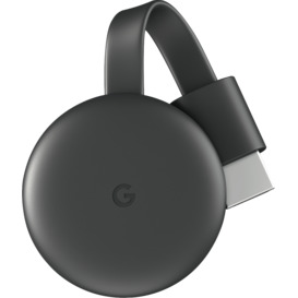 Chromecast-Charcoal-Grey on sale