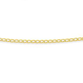 9ct-Gold-Gents-55cm-Solid-Curb-Chain on sale