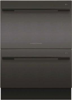 Fisher-Paykel-60cm-Double-DishDrawer-Dishwasher-Black on sale