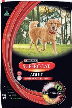 Supercoat-Dry-Dog-Food-12kg-Chicken on sale